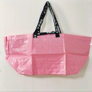 New IKEA FRAKTA Breast Cancer Awareness PINK Tote